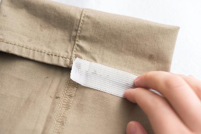 ズボン裾上げテープの簡単な初歩や基本的な使い方・利用方法・仕様方法・やり方