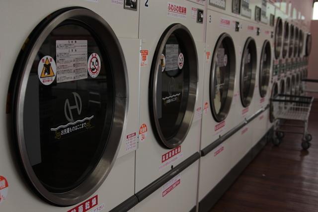コインランドリーの使い方 一人暮らしも安心、洗濯乾燥機のやり方
