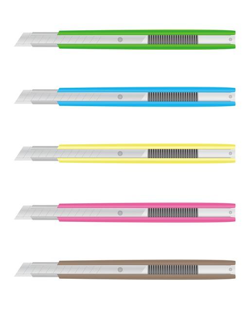カッターの簡単な初歩や基本的な使い方・利用方法・仕様方法・やり方