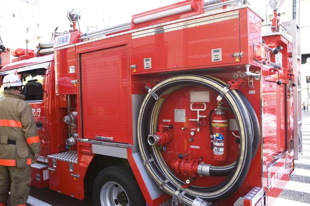 小型消防ポンプの簡単な初歩や基本的な使い方・利用方法・仕様方法・やり方
