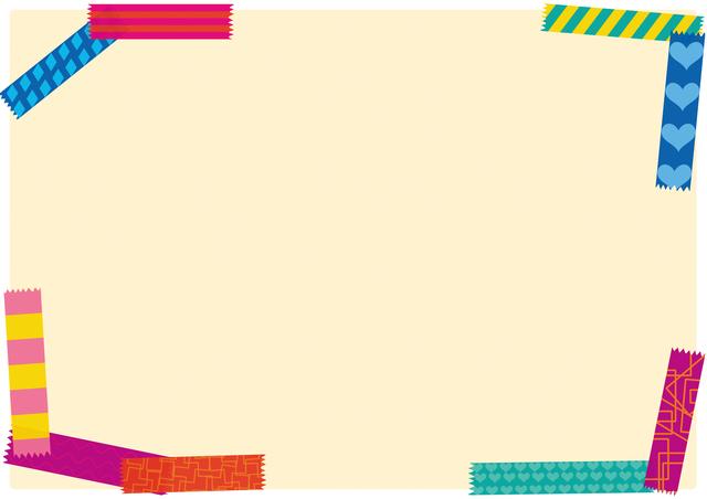 マスキングテープノートの簡単な初歩や基本的な使い方・利用方法・仕様方法・やり方