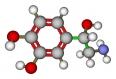 Norepinephrine molecular structure