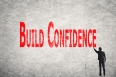 write words on wall, Build Confidence