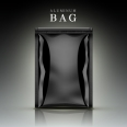 black aluminum bag