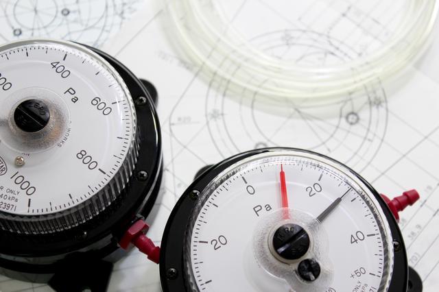差圧計の簡単な初歩や基本的な使い方・利用方法・仕様方法・やり方