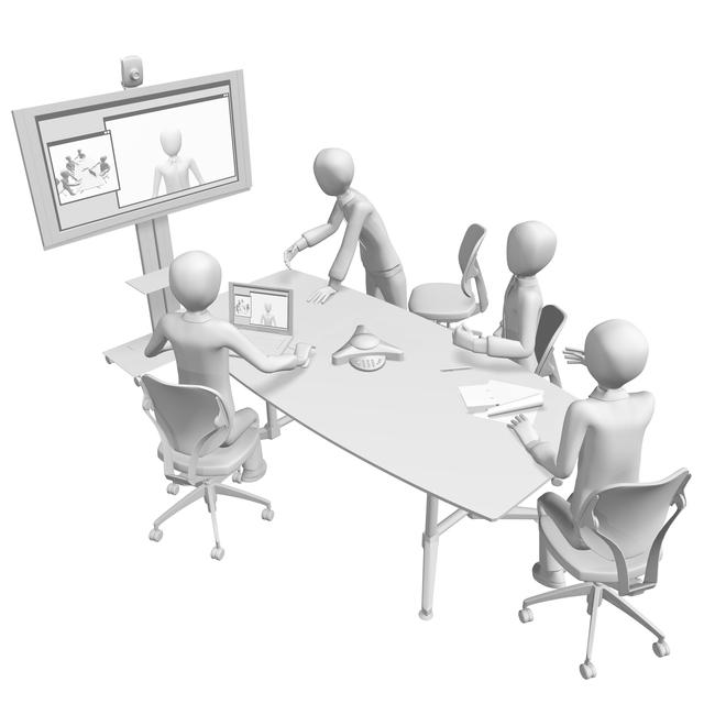 ポリコム電話会議の簡単な初歩や基本的な使い方・利用方法・仕様方法・やり方